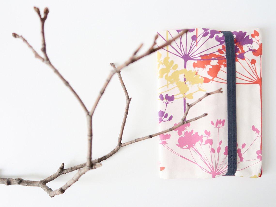 Malmappe mit Stiften & Block (Blumen)