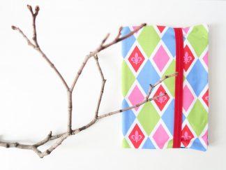 Malmappe mit Stiften & Block (Lilie)