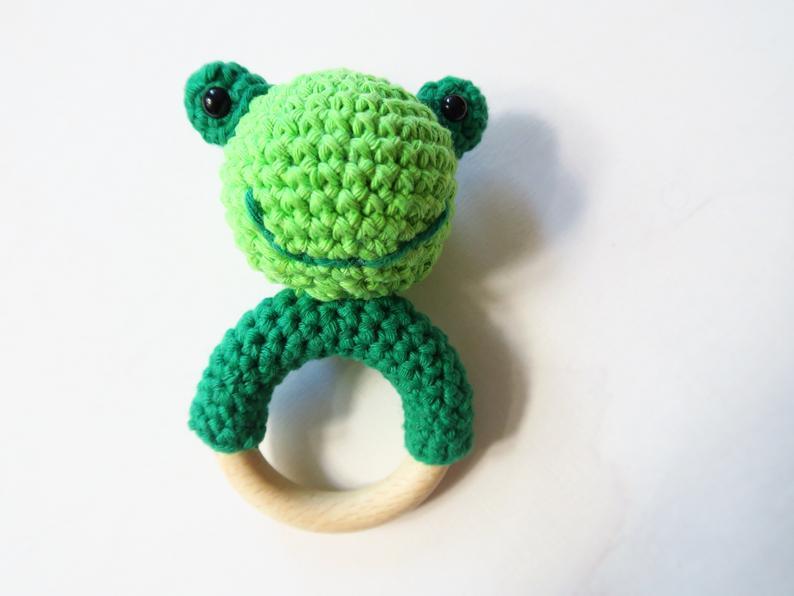 Mini Frosch Amigurumi Häkelanleitung   596x794
